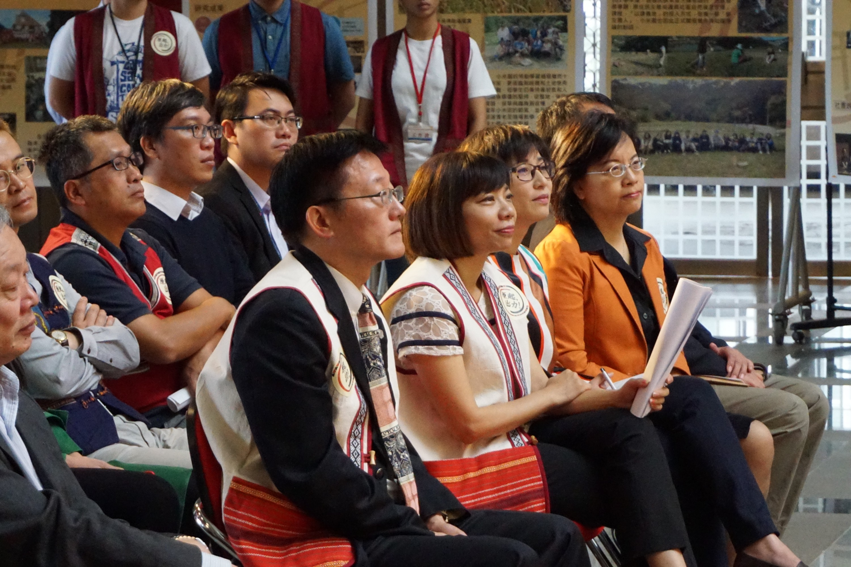 原住民族學生資源中心揭牌典禮